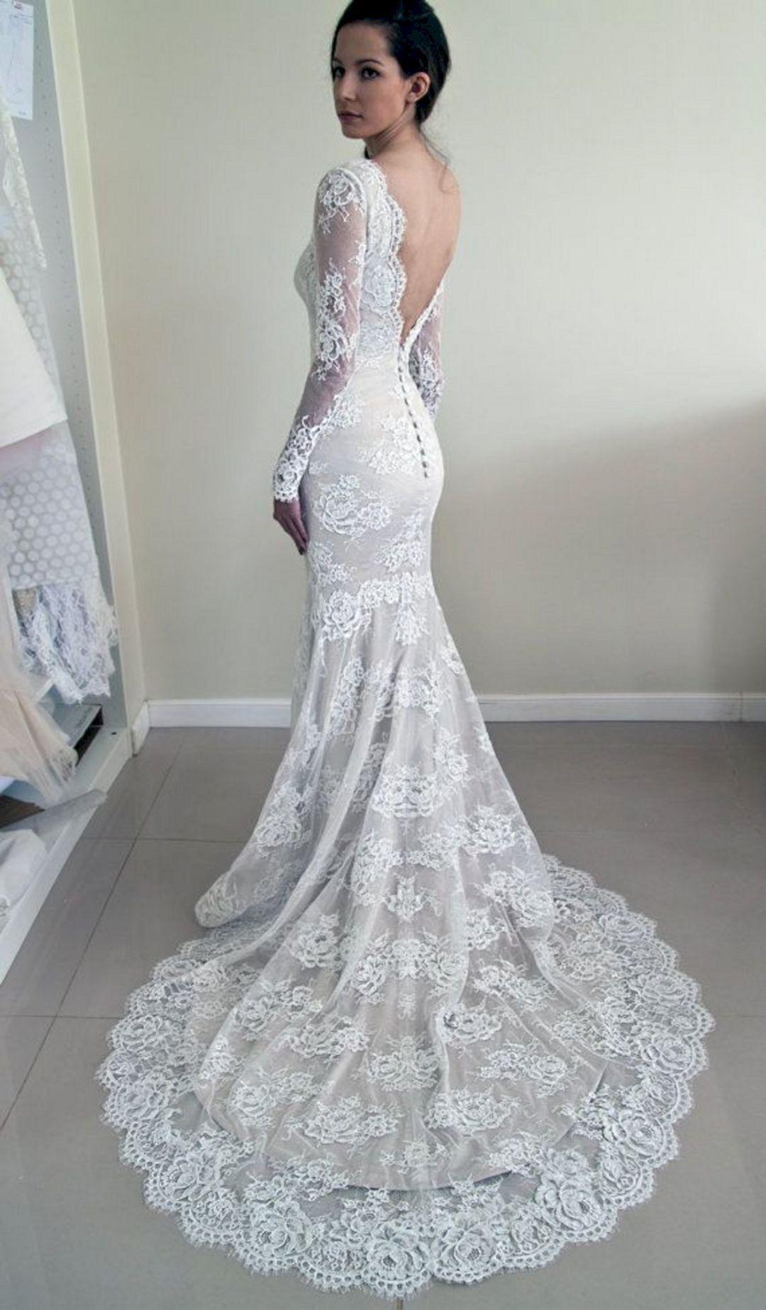 beautiful lace wedding dresses photo - 1