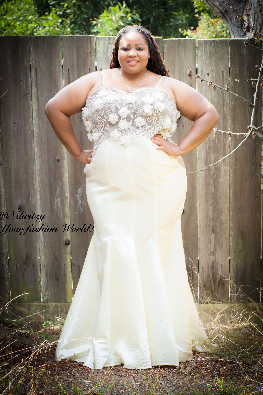 beautiful plus size wedding dresses photo - 1