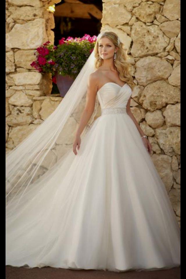 beautiful princess wedding dresses photo - 1