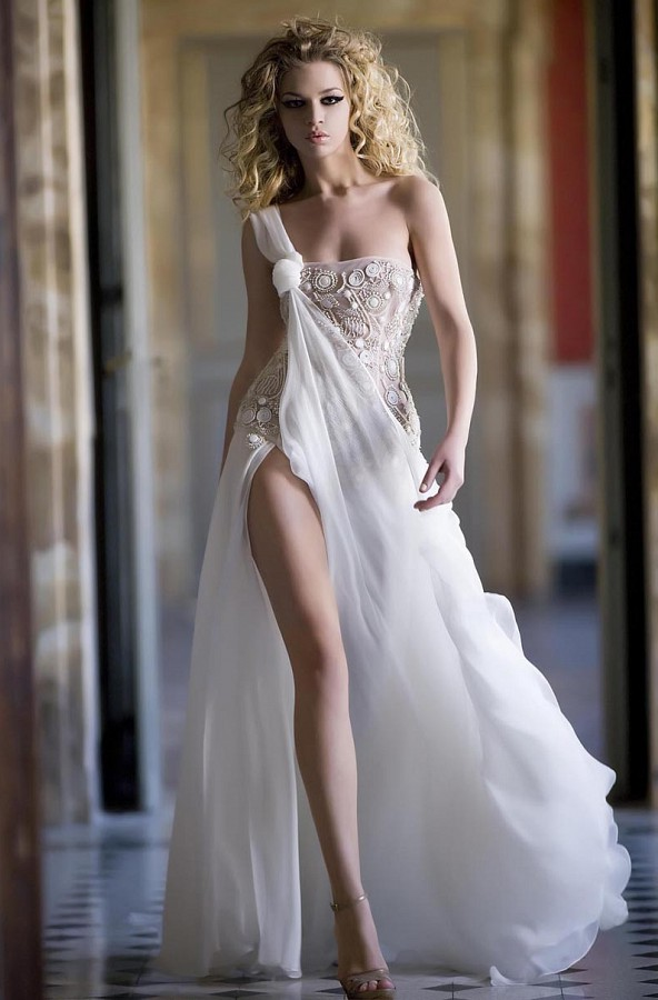 beautiful sexy wedding dresses photo - 1
