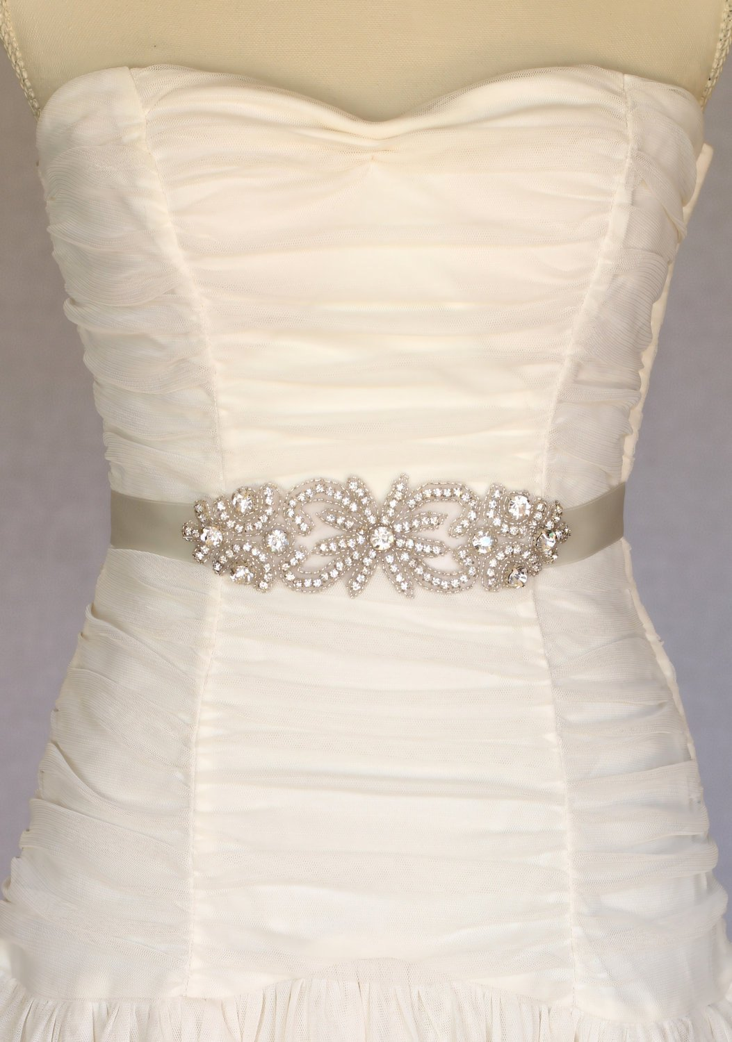 belts for wedding dresses photo - 1