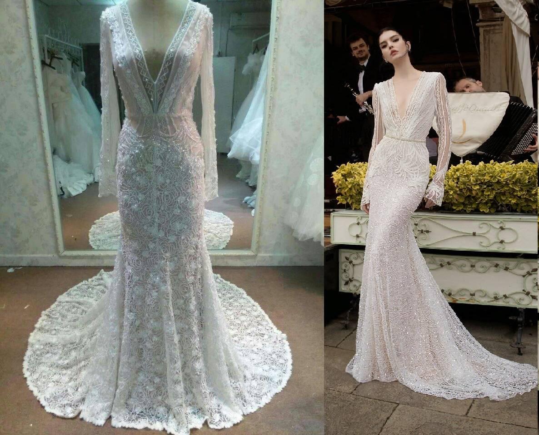 berta wedding dresses replica photo - 1