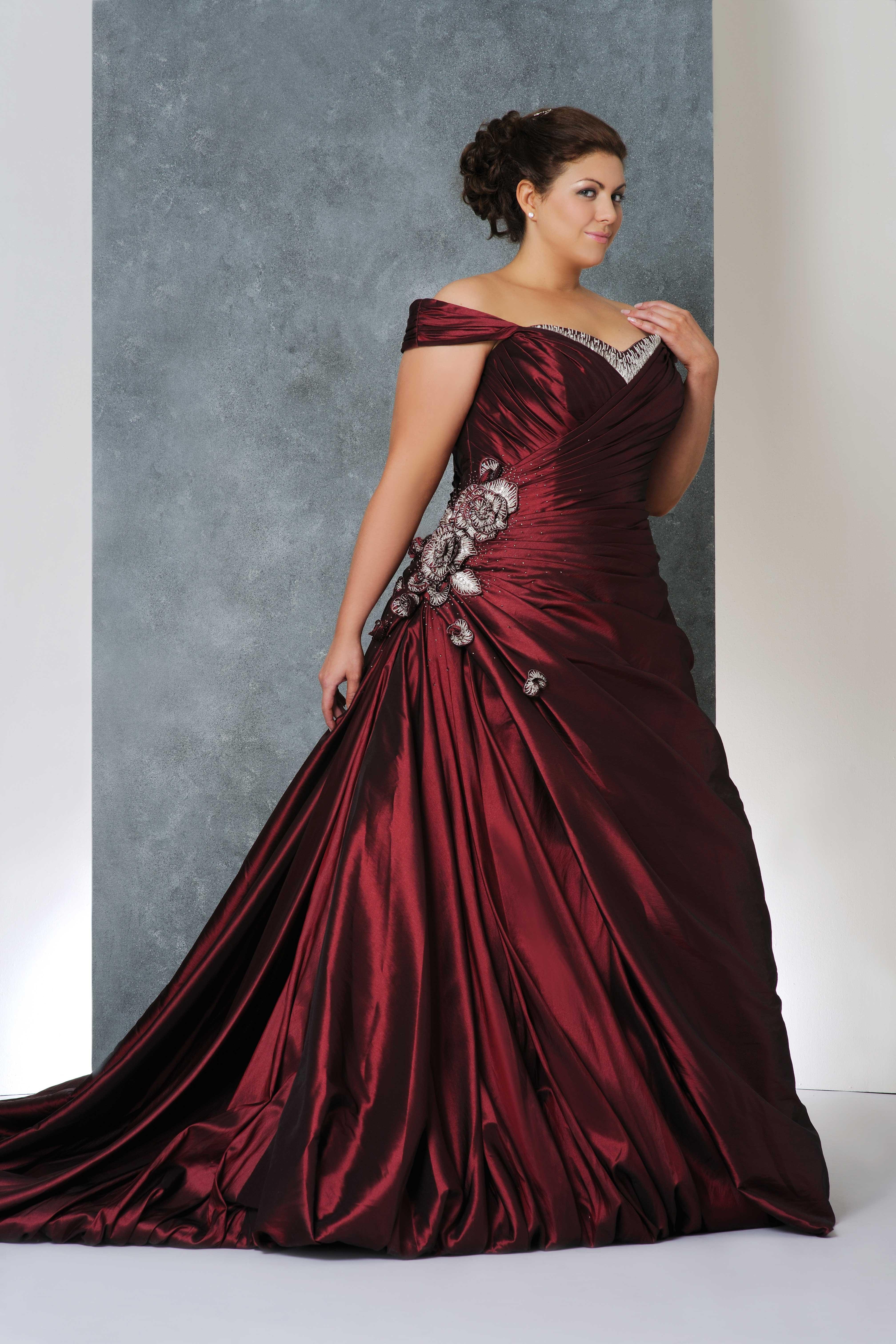 best wedding dresses for plus size brides photo - 1