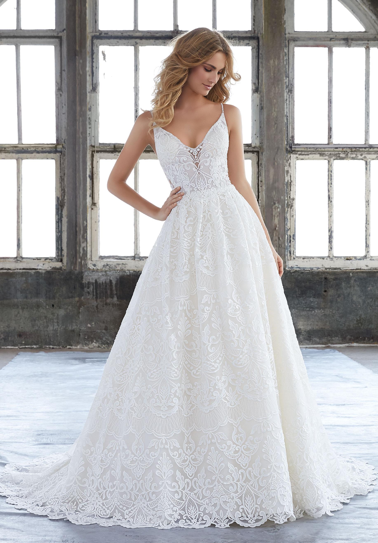 best wedding dresses for short brides photo - 1