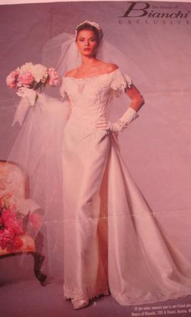 bianchi wedding dresses photo - 1