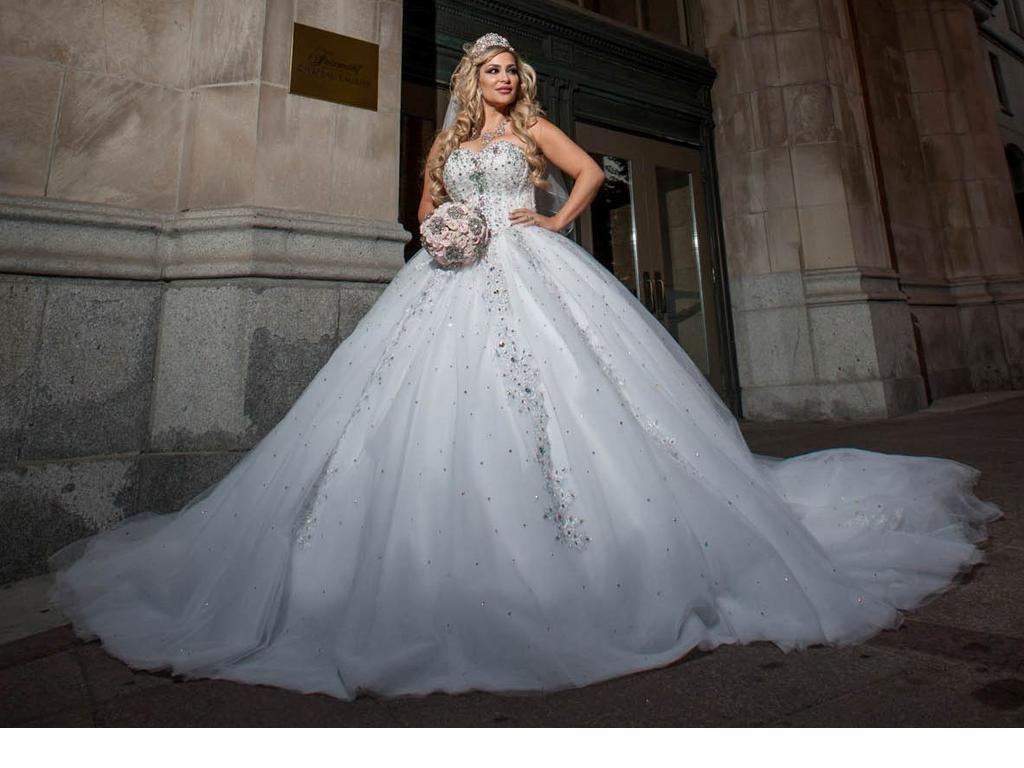 big ball gown wedding dresses photo - 1