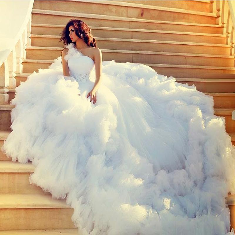 big fluffy wedding dresses photo - 1