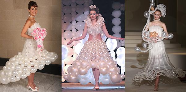 bizarre wedding dresses photo - 1