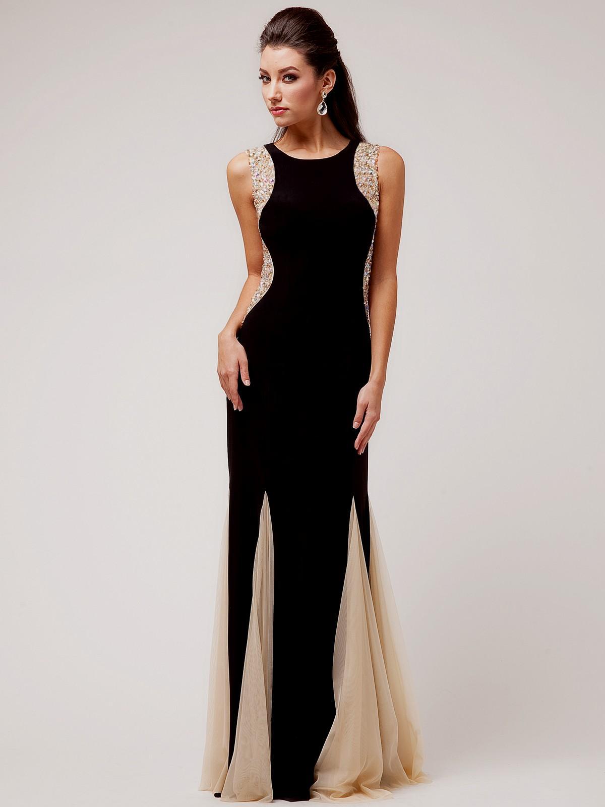 black and white elegant dresses photo - 1
