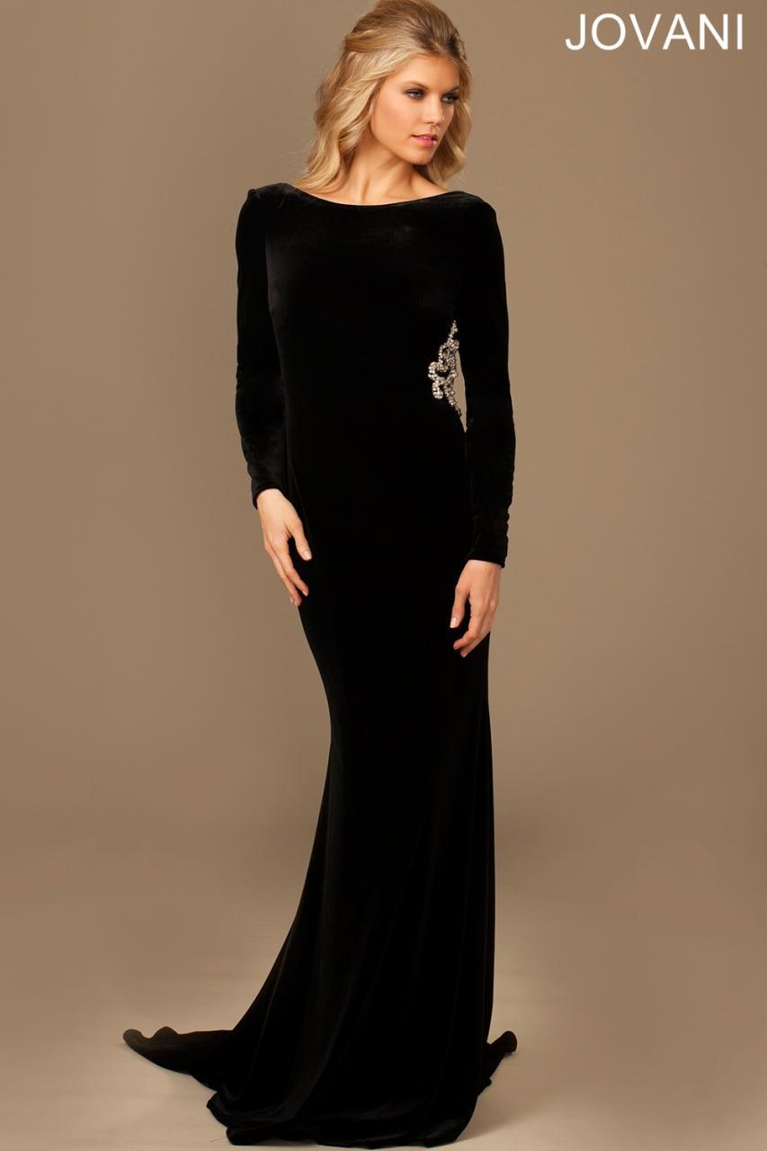 black tie evening dresses photo - 1