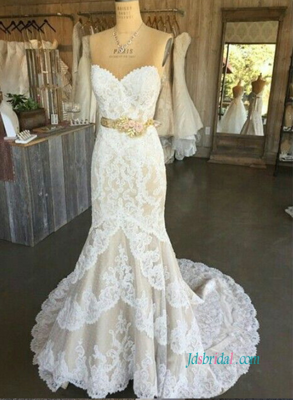 bling wedding dresses photo - 1