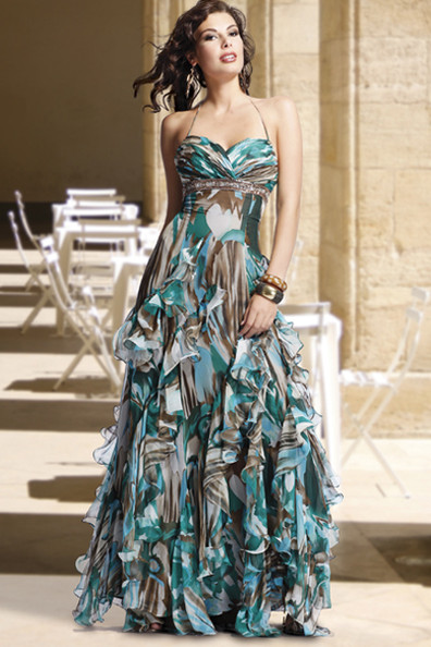 blue camo wedding dresses photo - 1