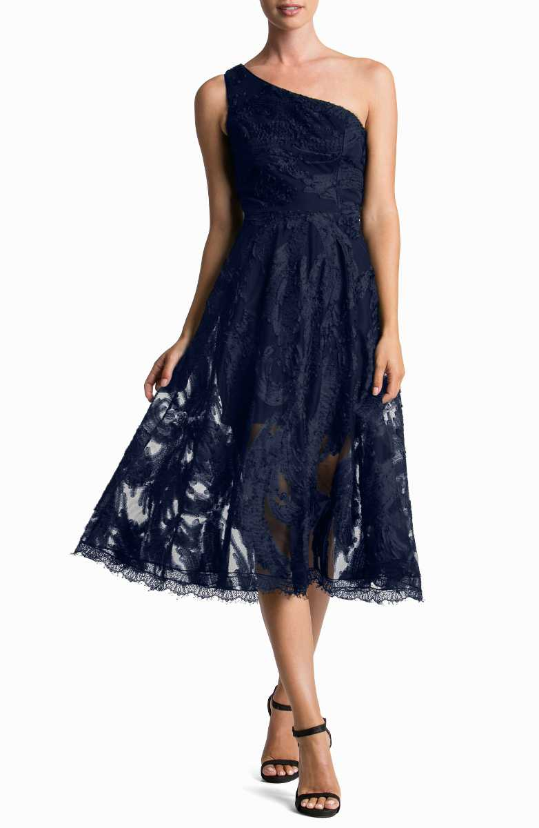 blue dresses for wedding guest photo - 1