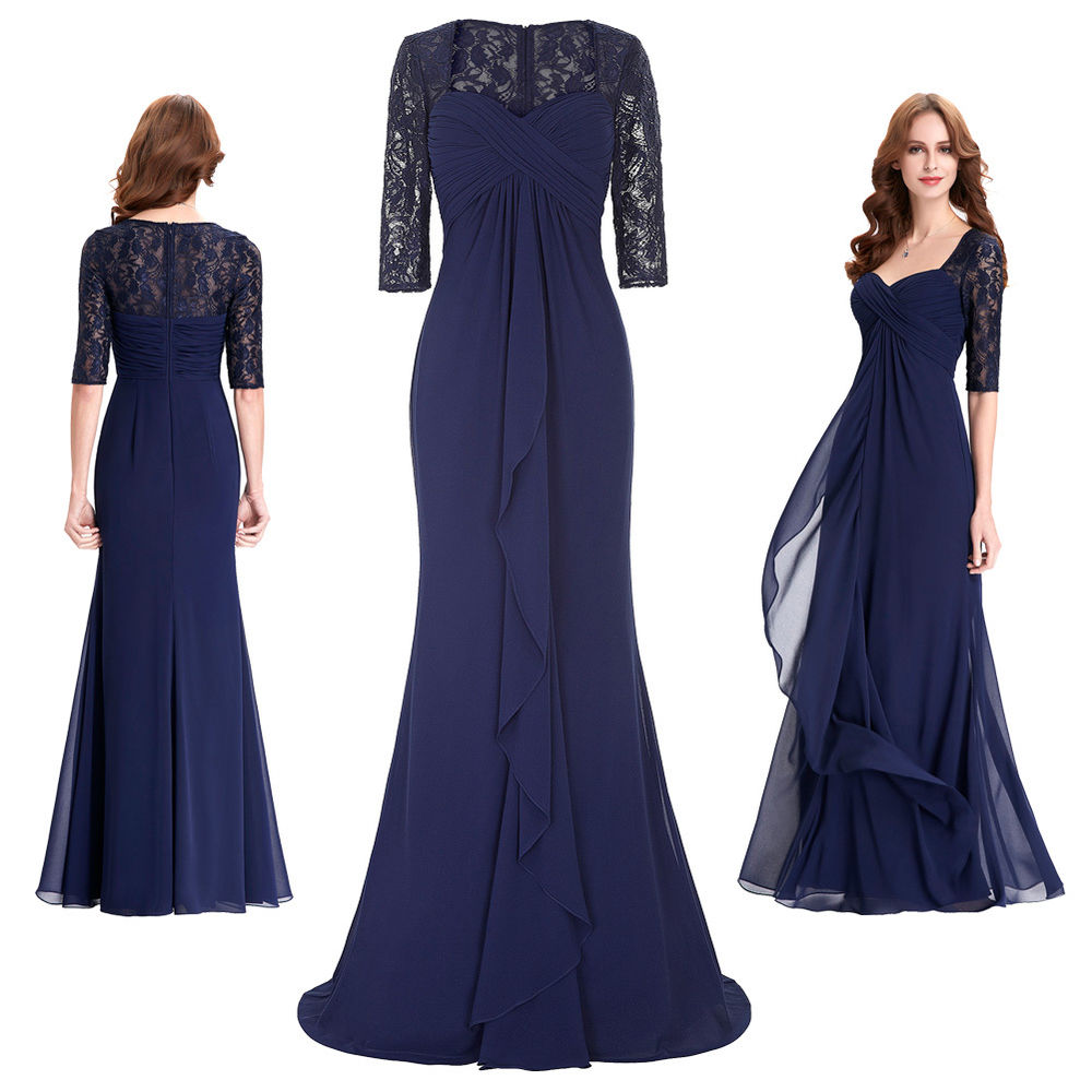 blue dresses to wear to a wedding photo - 1