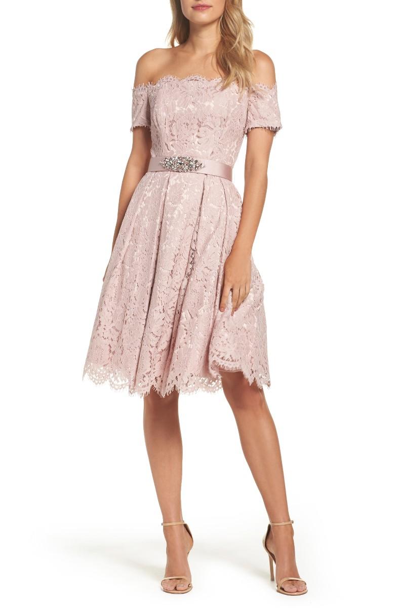 blush pink wedding dresses photo - 1