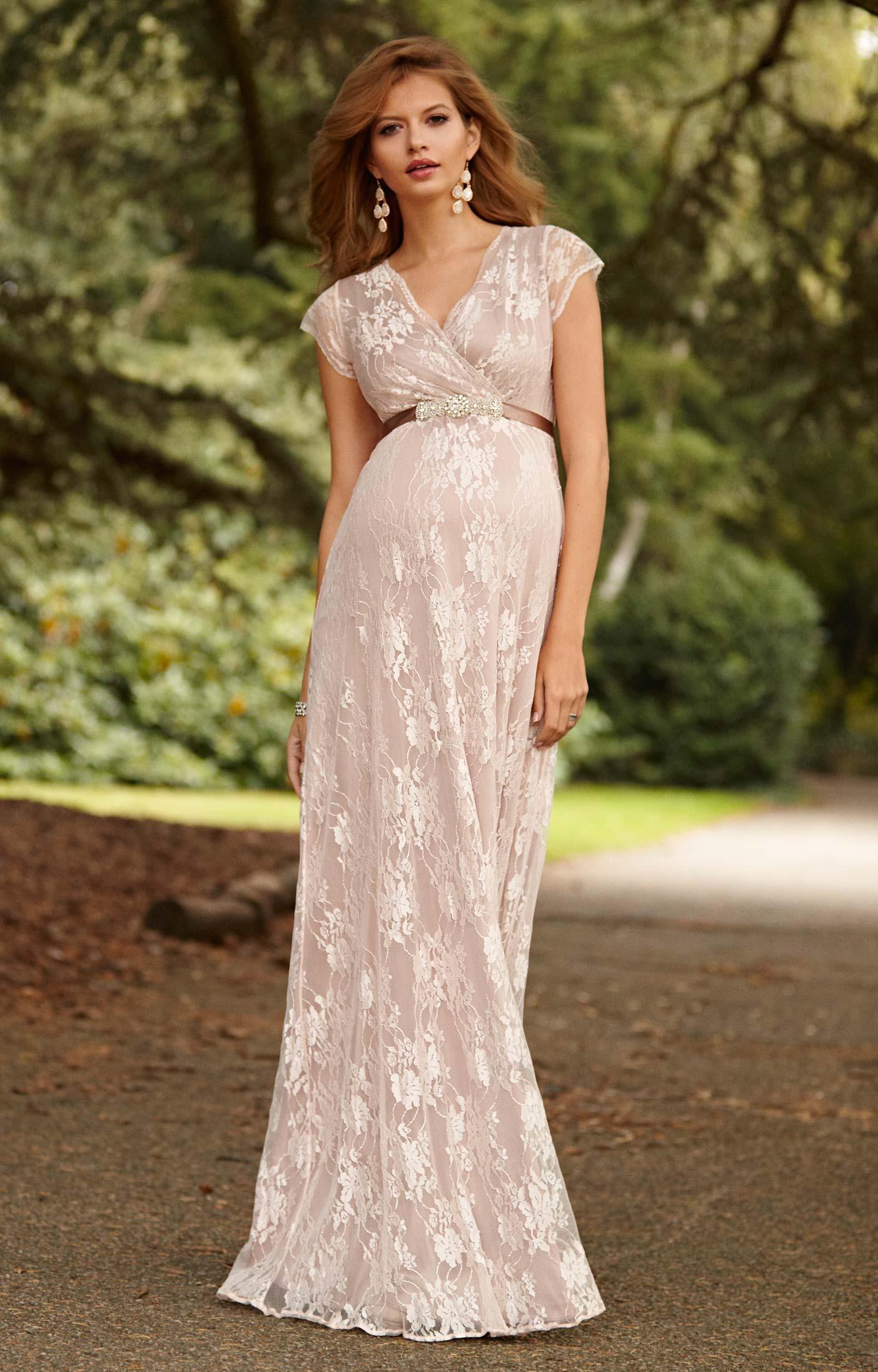 blush wedding dresses photo - 1