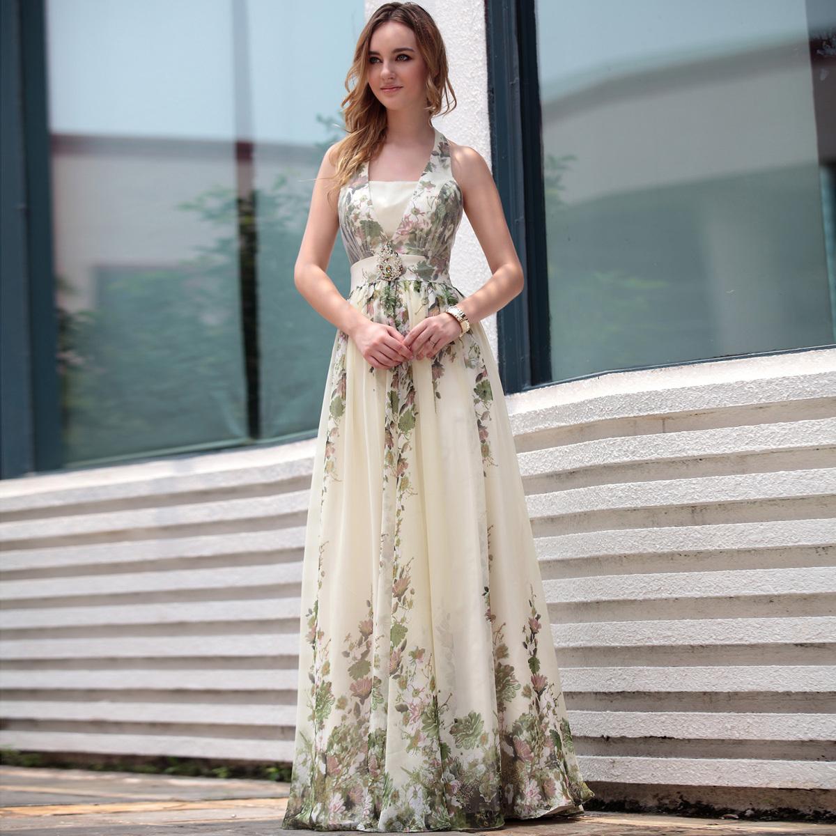 bohemian evening dresses photo - 1