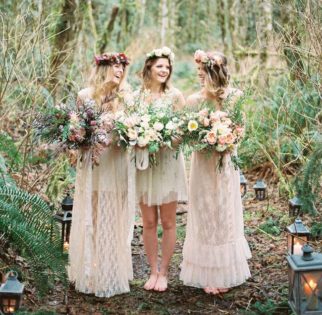 bohemian wedding dresses photo - 1