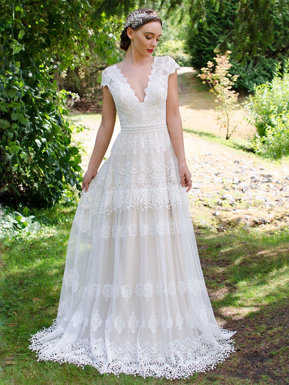 boho wedding dresses for sale photo - 1