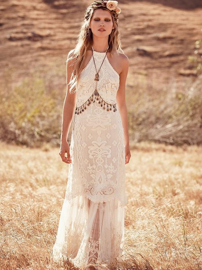 boho wedding dresses online photo - 1