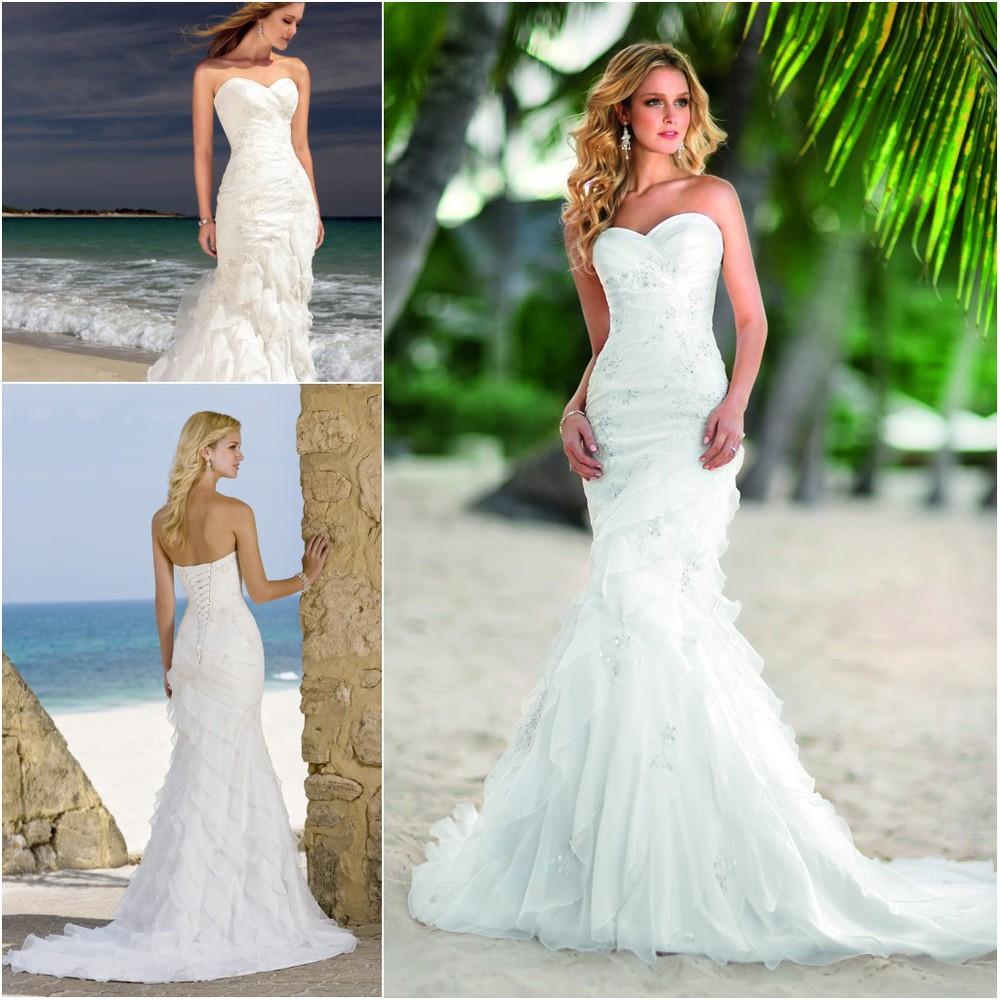 casual bridesmaid dresses for beach wedding photo - 1