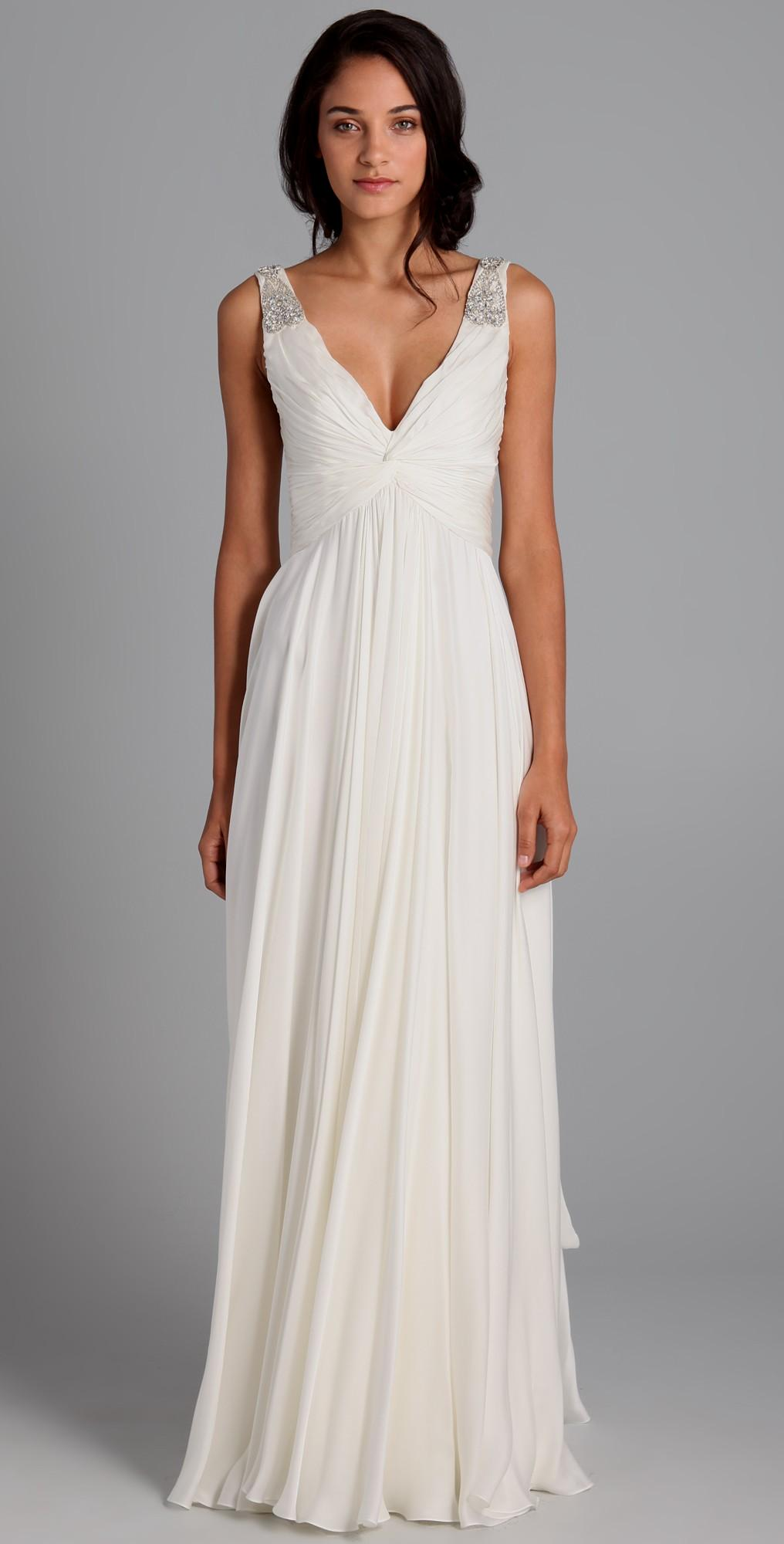 casual cotton wedding dresses photo - 1