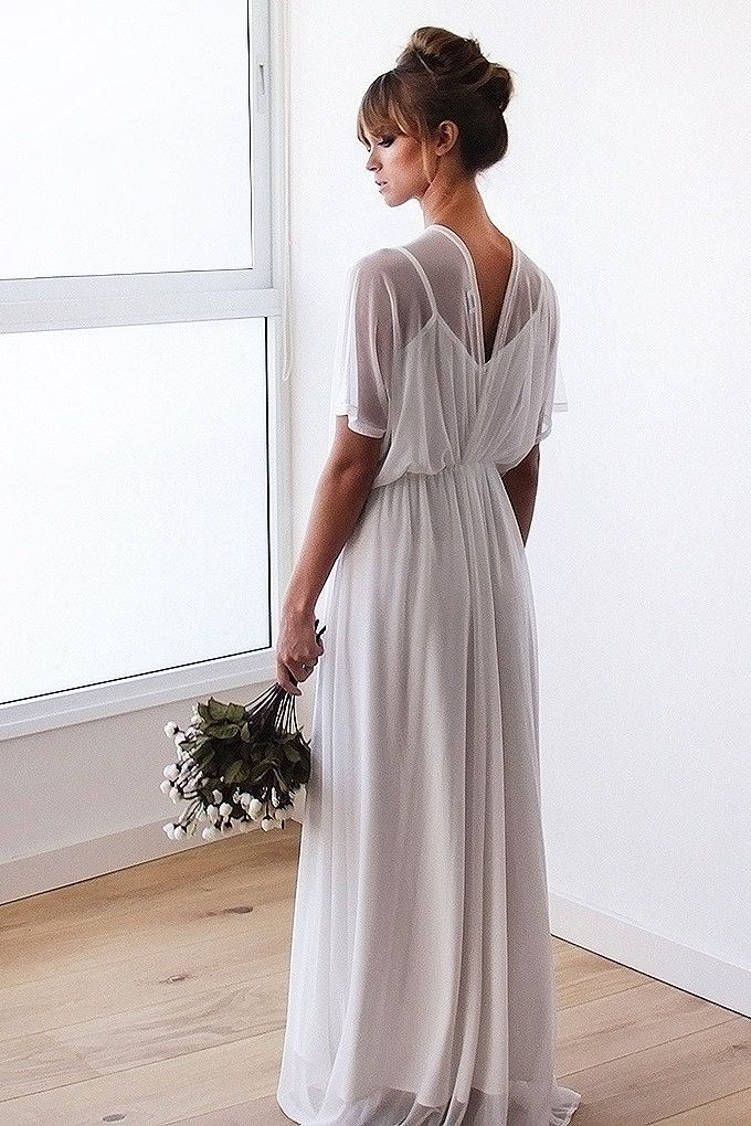 casual country wedding dresses photo - 1