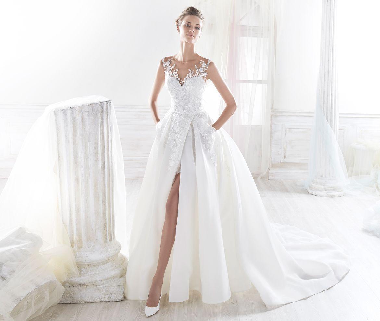 casual elegant wedding dresses photo - 1
