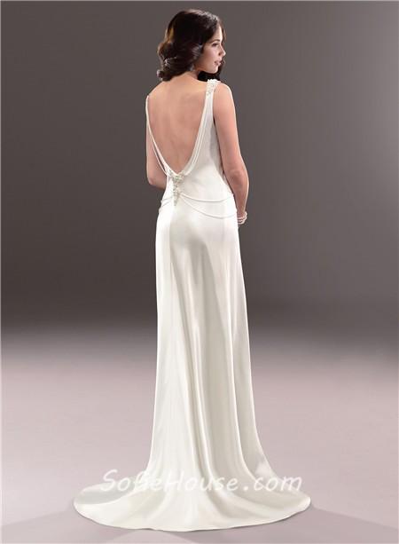 casual flowy wedding dresses photo - 1