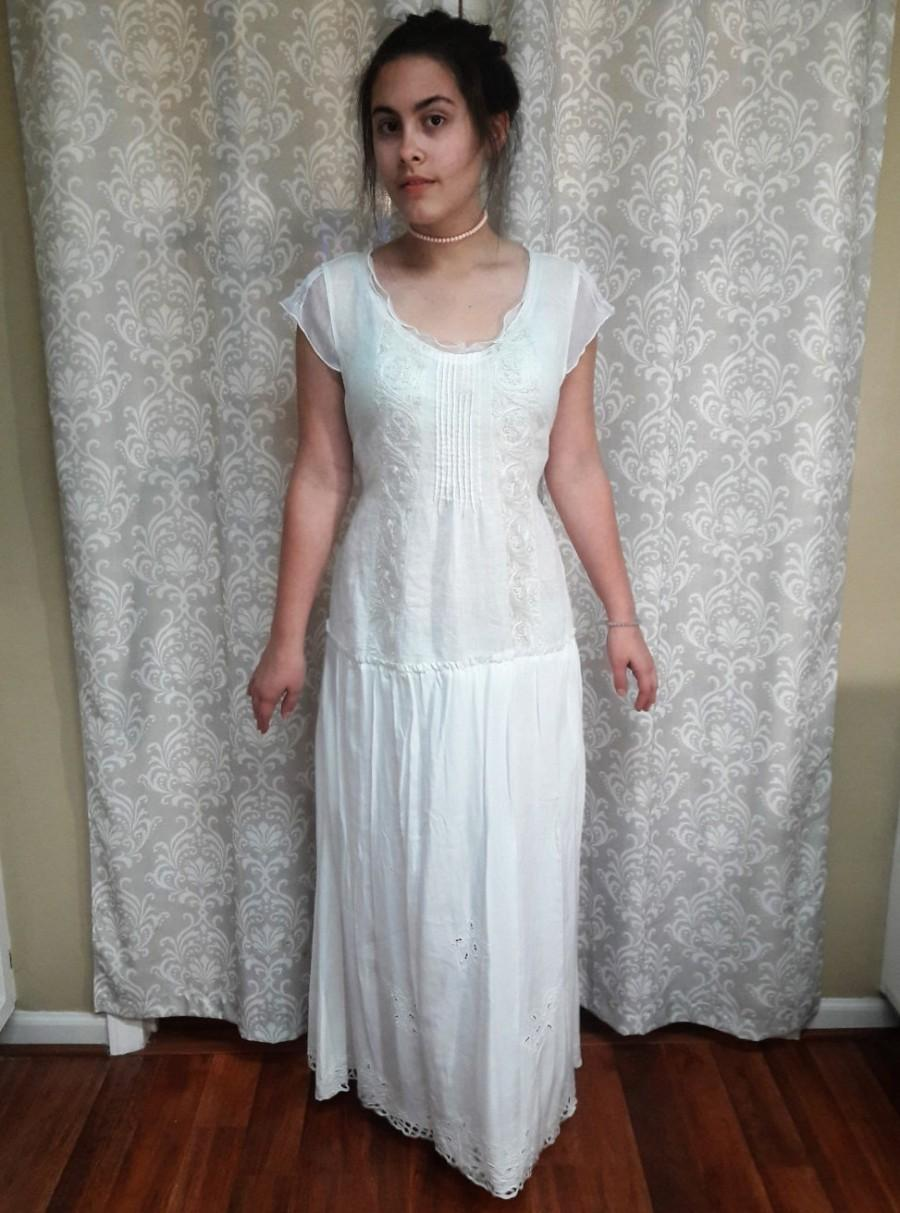 casual hippie wedding dresses photo - 1