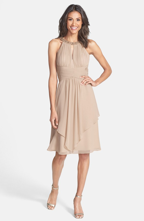 casual mother of the bride dresses for barn wedding photo - 1