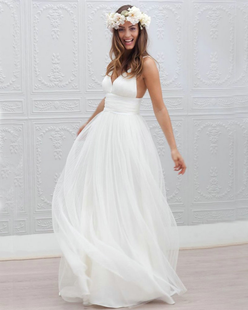 Casual Wedding Dresses For Summer Outlet Online, UP TO 18 OFF