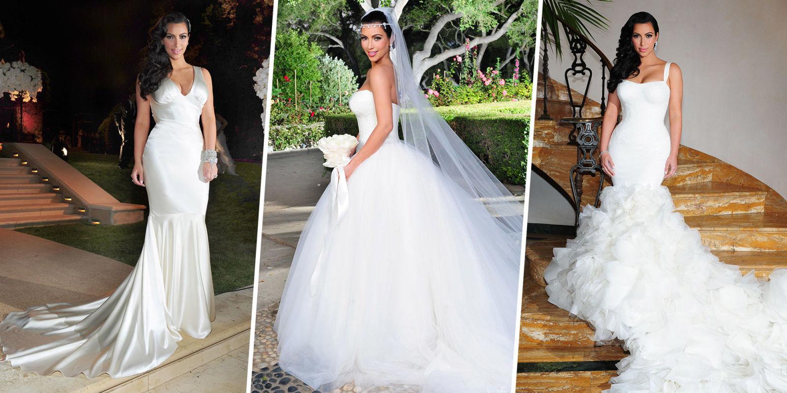 celeb wedding dresses photo - 1