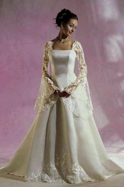 celtic medieval wedding dresses photo - 1