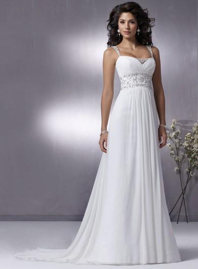 cheap casual wedding dresses photo - 1