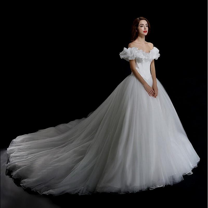 cheap cinderella wedding dresses photo - 1