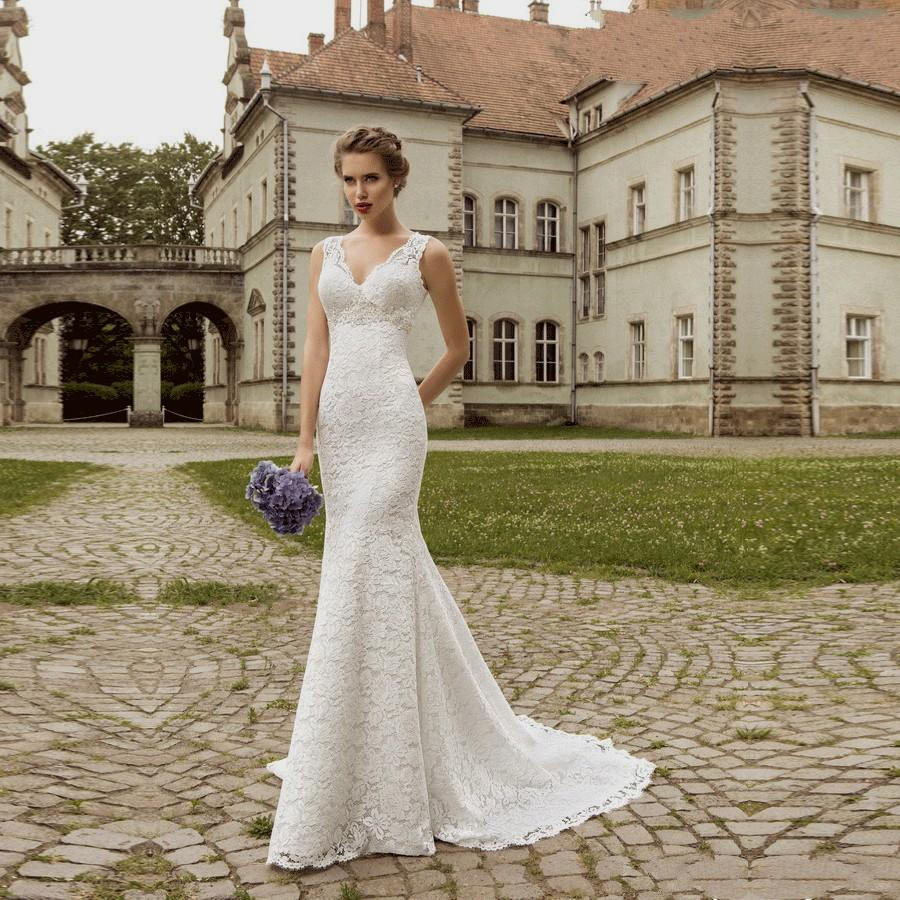 cheap country wedding dresses photo - 1