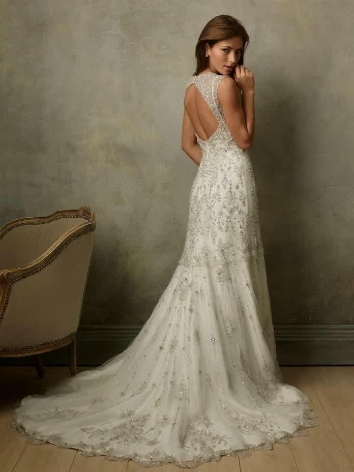 cheap designer wedding dresses photo - 1