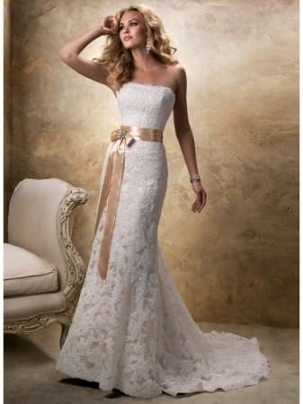 cheap gorgeous wedding dresses photo - 1