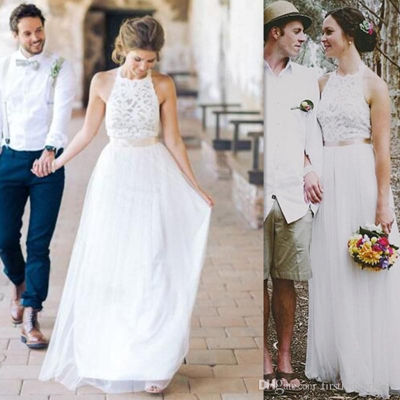 cheap ivory wedding dresses photo - 1
