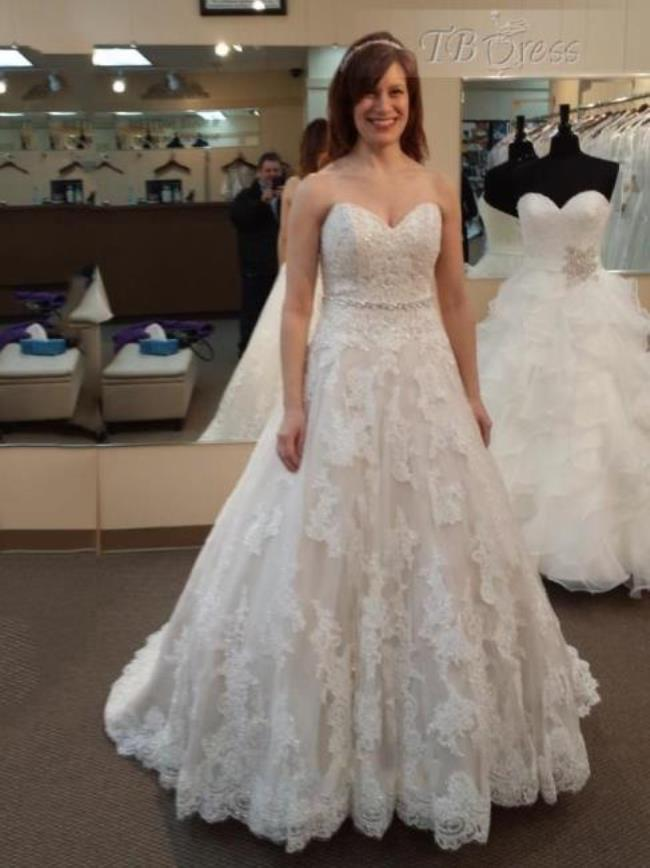 cheap places to buy wedding dresses photo - 1