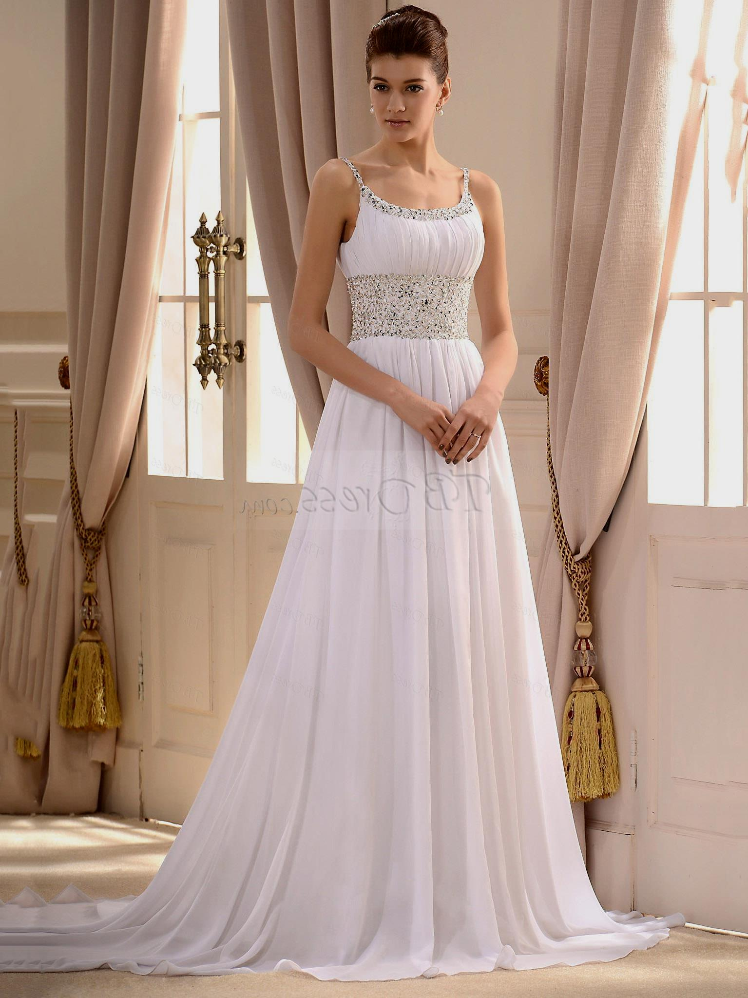 cheap plus size wedding dresses with sleeves photo - 1