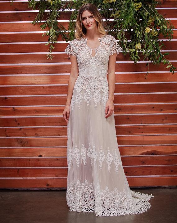 cheap second hand wedding dresses photo - 1