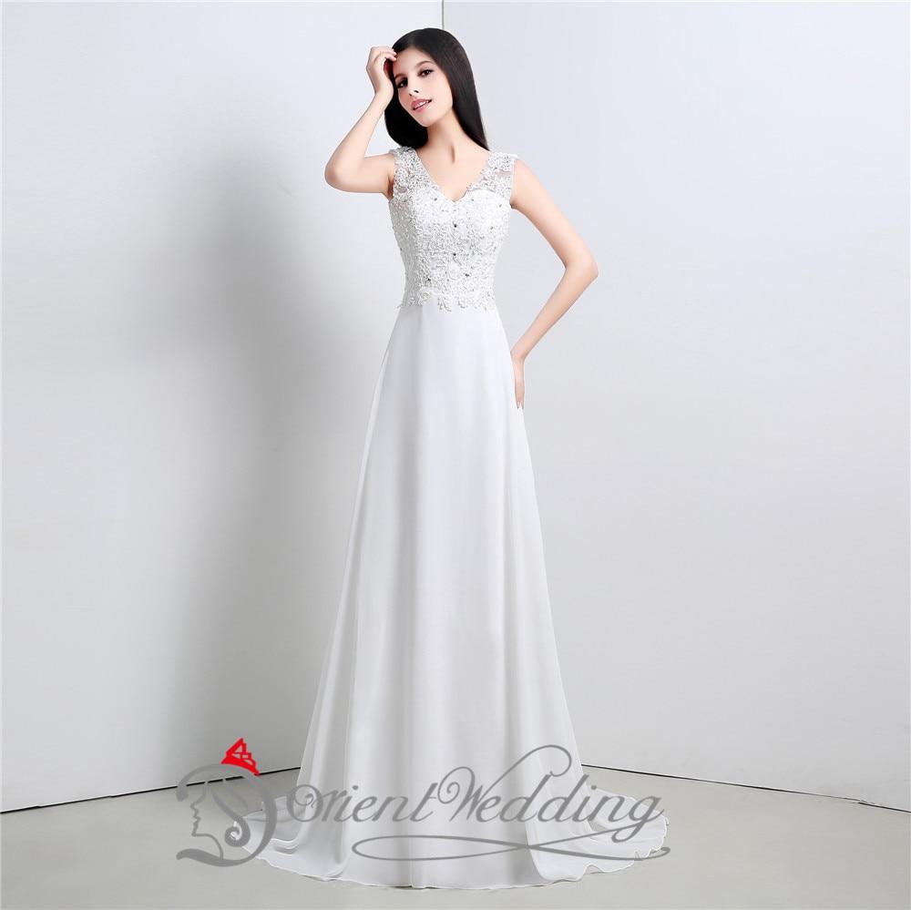 cheap simple wedding dresses under 100 photo - 1