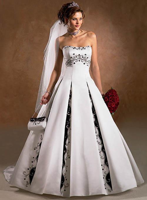 cheap unique wedding dresses photo - 1