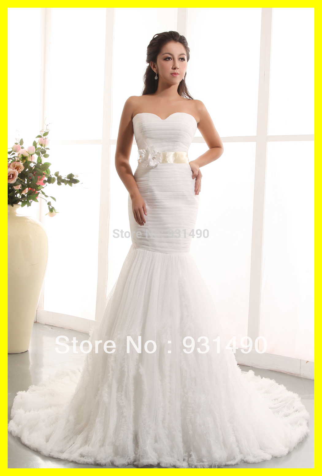 cheap used wedding dresses for sale photo - 1
