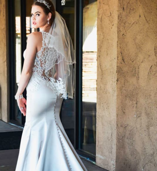 cheap wedding dresses in az photo - 1