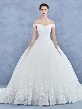 cheap wedding dresses with sleeves photo - 1