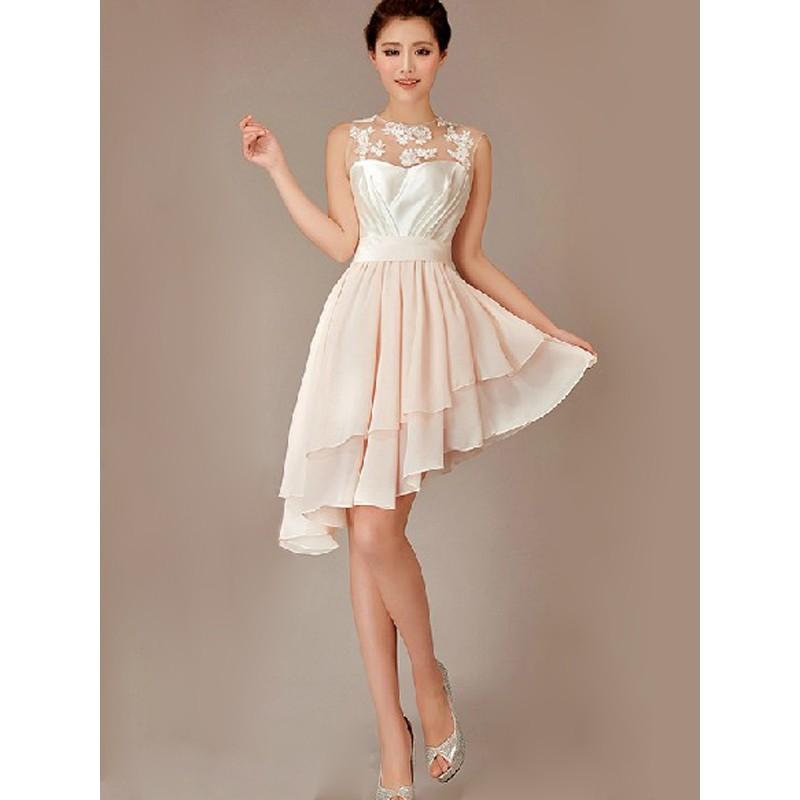 cheap white wedding dresses photo - 1