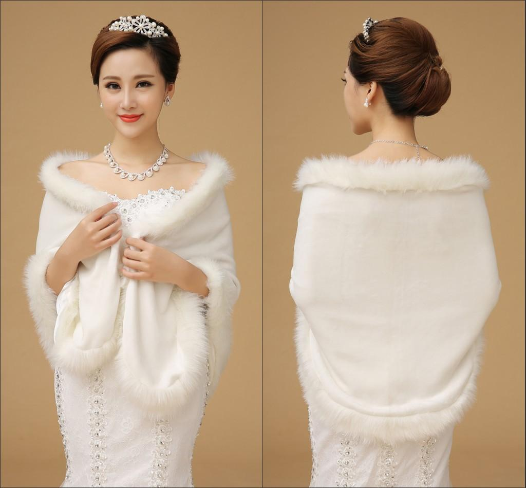 cheap winter wedding dresses photo - 1